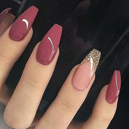 Nails Nail Black Manikúra
