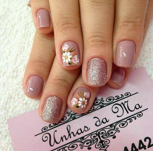 Floral Nail Designs-10