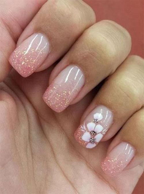 Floral Nail Designs-11
