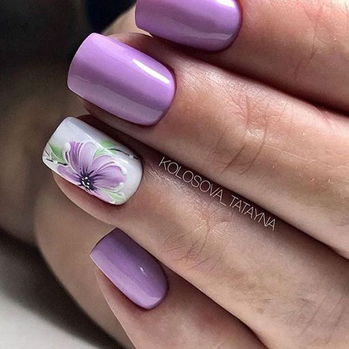 Floral Nail Designs-14