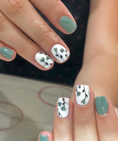 Floral Nail Designs-15