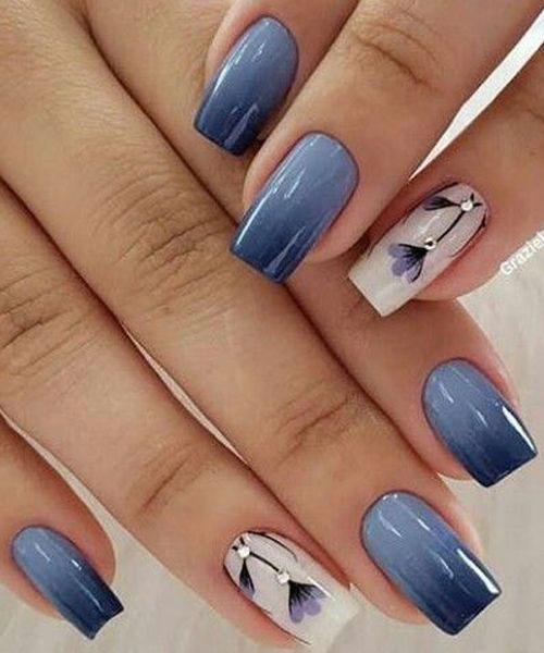 Floral Nail Designs-17