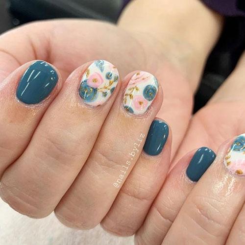 Floral Nail Designs-18