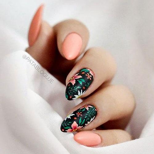 Floral Nail Designs-6