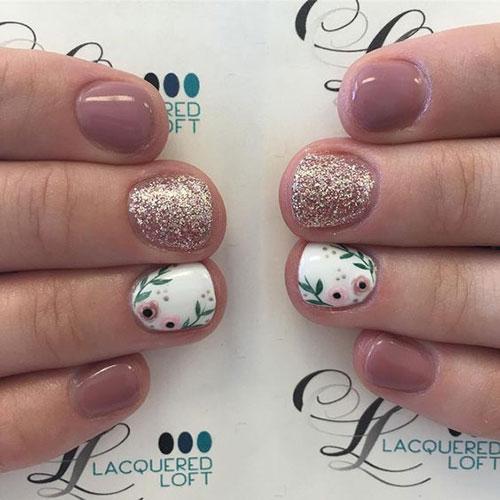 Floral Nail Designs-8