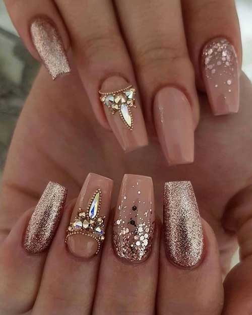 20 Best Wedding Nail Ideas Nail Art Designs 2017