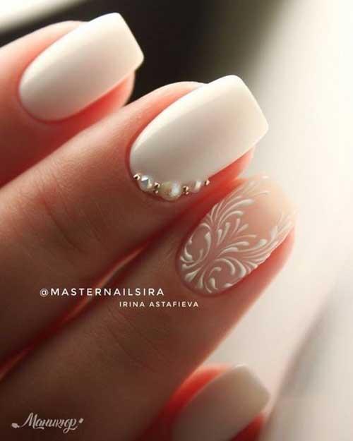 Bridal Nail Designs-16