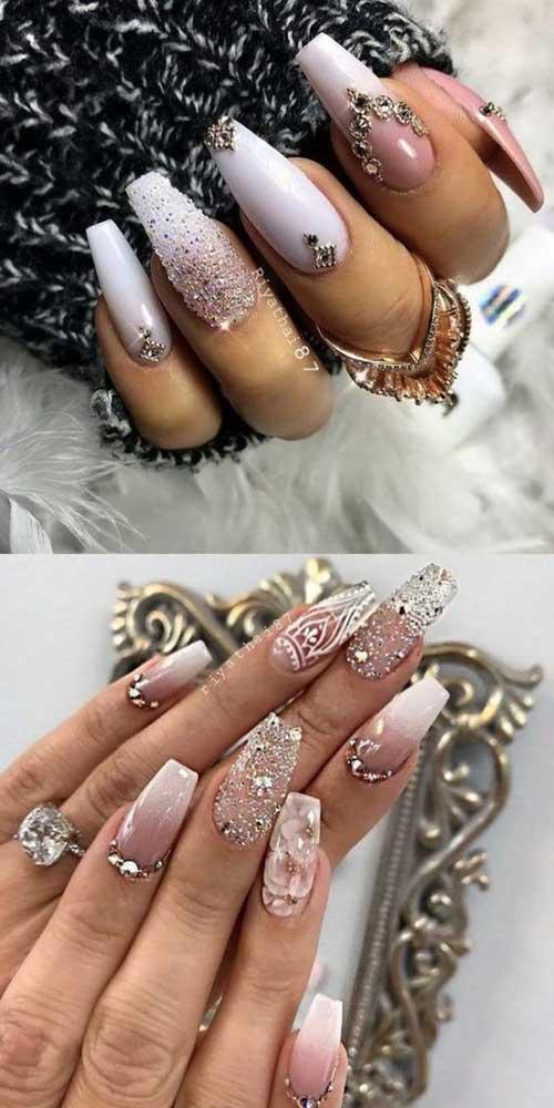 Bridal Nail Designs-7