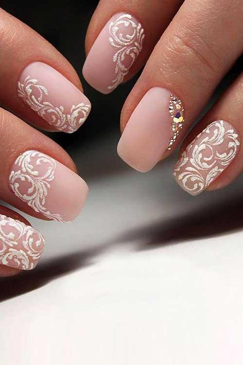Bridal Nail Designs-8