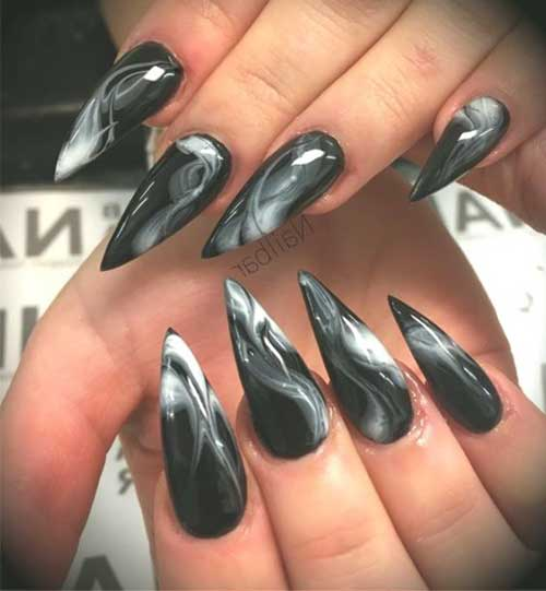 Stiletto Nail Ideas-10