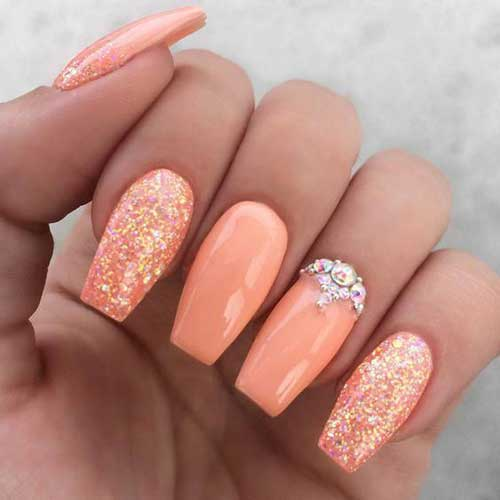 Nails with Rhinestones-12