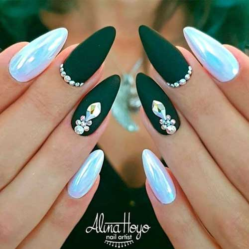 Nails with Rhinestones-14