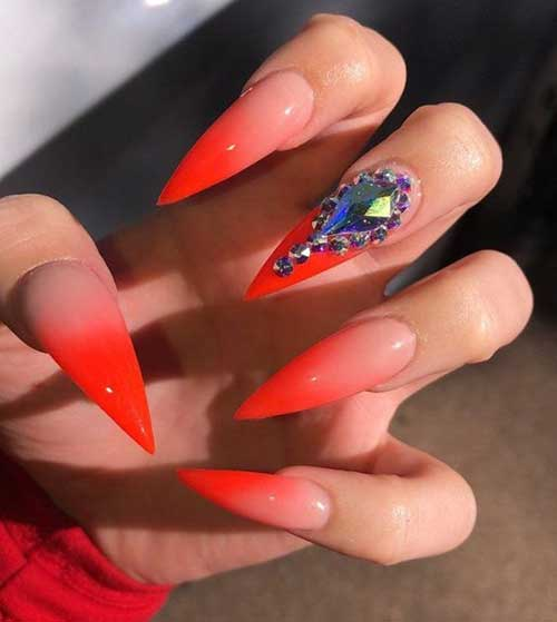 Stiletto Nail Ideas-14