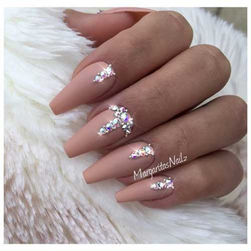 Nails with Rhinestones-15