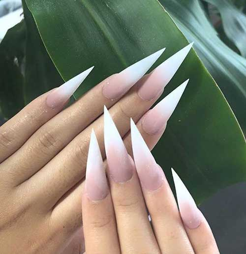Stiletto Nail Ideas-15