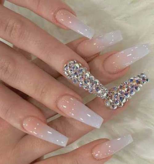 Nails with Rhinestones-19