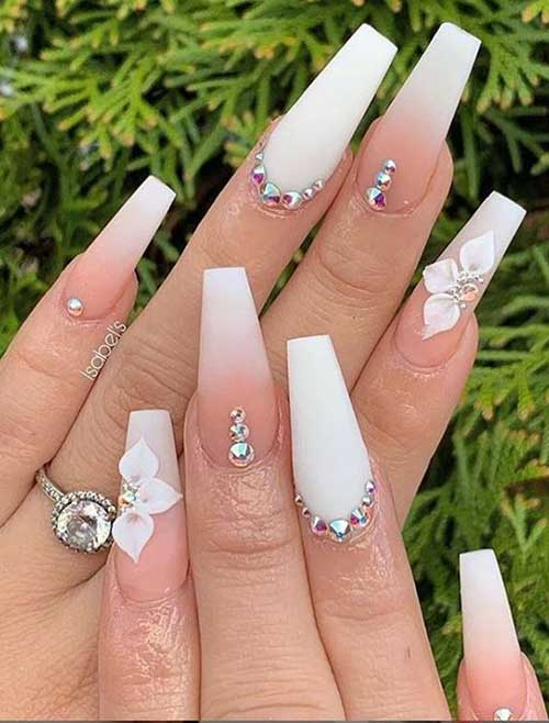 Nails with Rhinestones-7