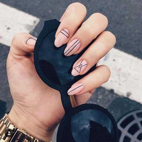 Geometric Nails-8