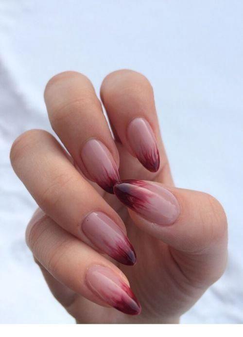Acrylic Nails Almond Short
