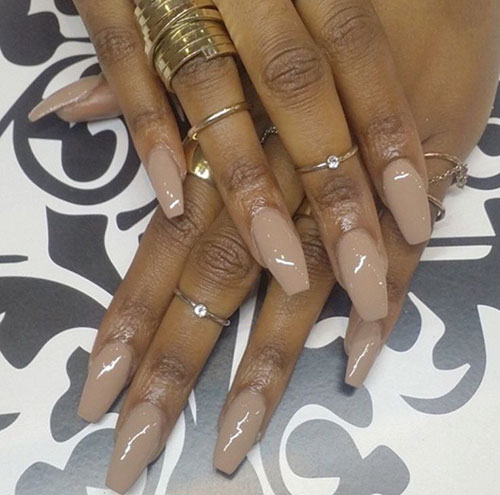 Best Nail Colors For Brown Skin