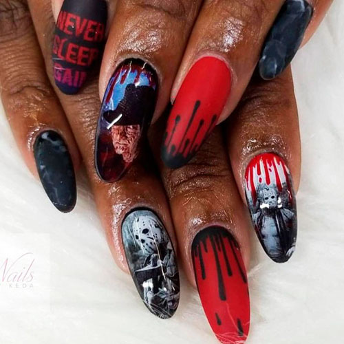 Halloween Nail Designs Pictures