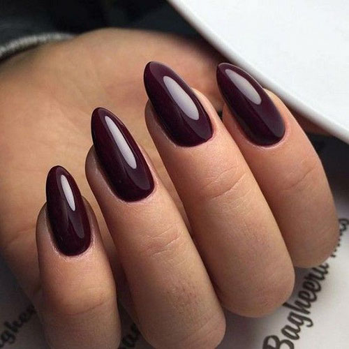 Almond Short Acrylic Nails