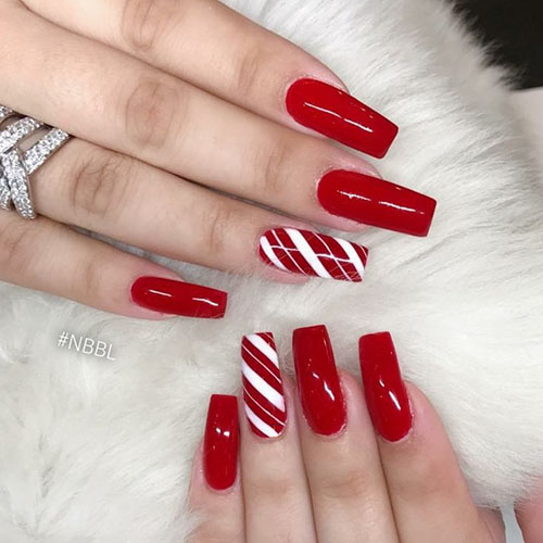 Candy Skull Nails