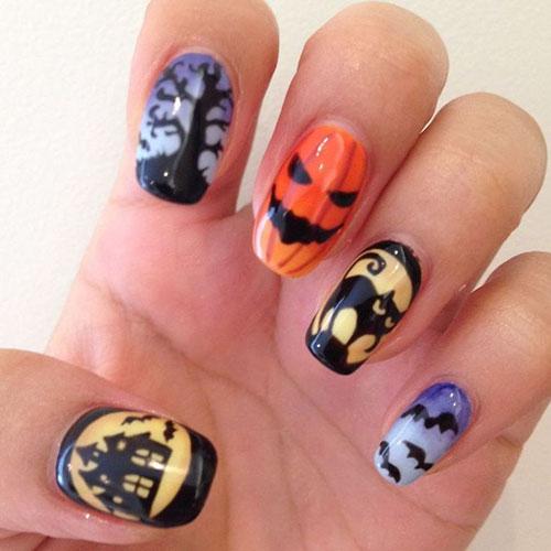 Cool Halloween Nail Designs