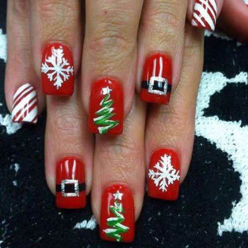 Pictures Of Holiday Nails