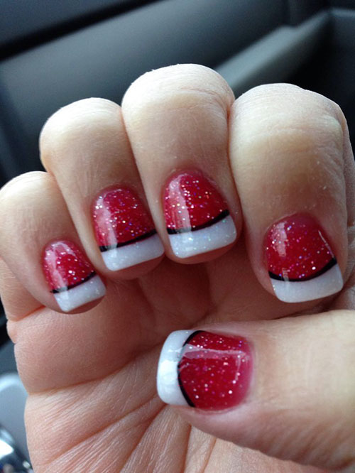 Nice Holiday Nails