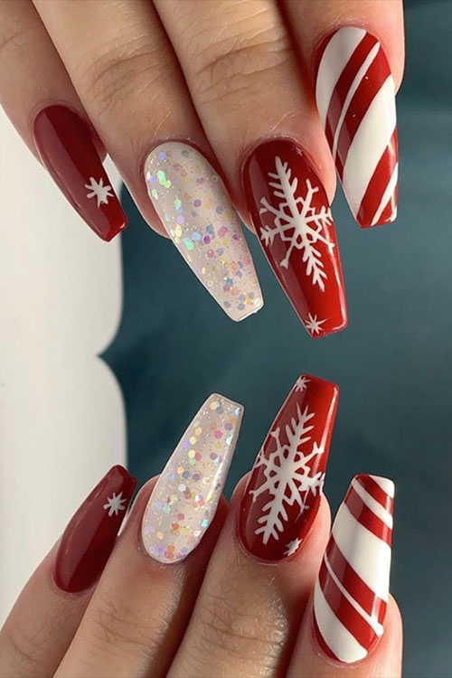 Candy Cane On Nails