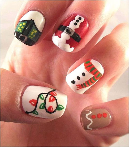 Holiday Season Nails