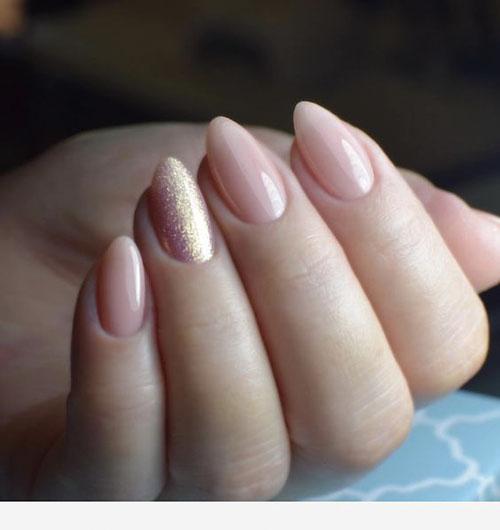 Short Almond Acrylic Nails