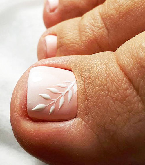 Patriotic Toe Nail Designs