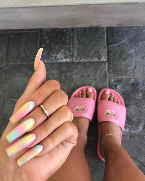 Trendy Long Nails