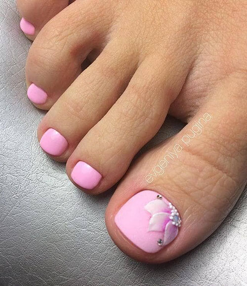 Butterfly Toe Nail Designs