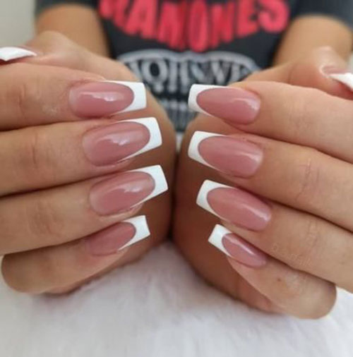 French Nails Pictures