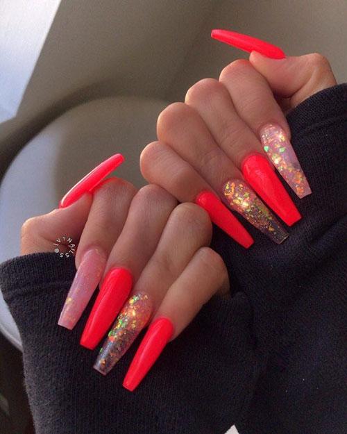 Long Rectangle Nails