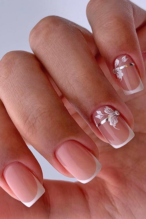 New French Nails