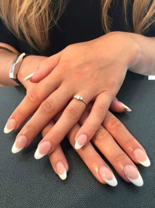 Cool French Nails