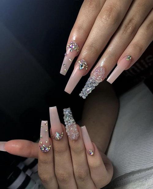 One Diamond On Nail
