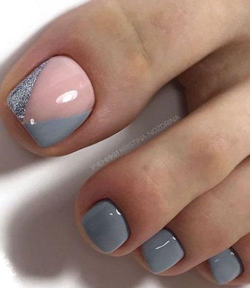Daisy Toe Nail Designs