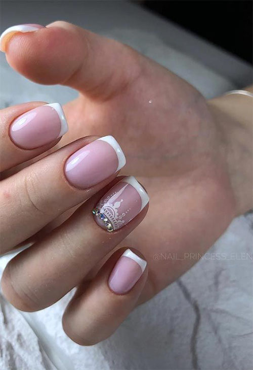 French Nails And Lashes