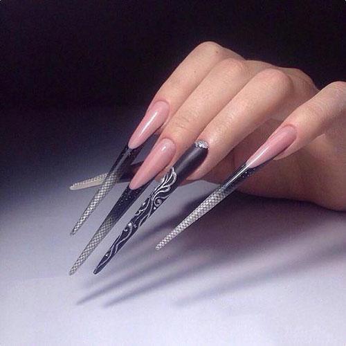 Long Acrylic Nails Ideas
