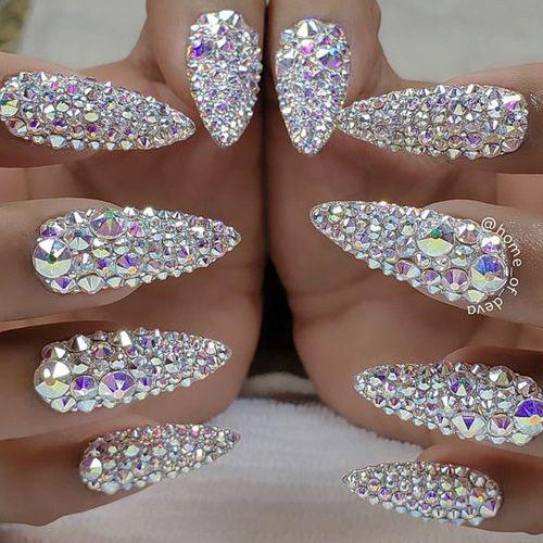 Top Diamond Nails