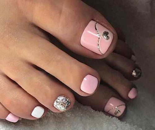 Colorful Toe Nail Designs