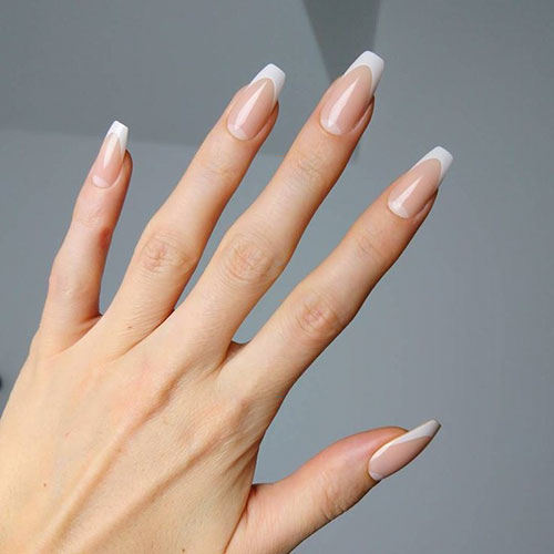 French Nails Images