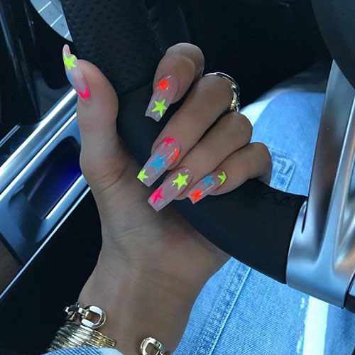 Star Nails On Meyers