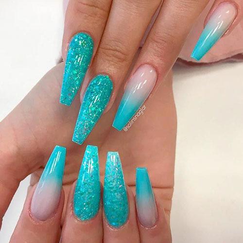 Trendy Acrylic Nails
