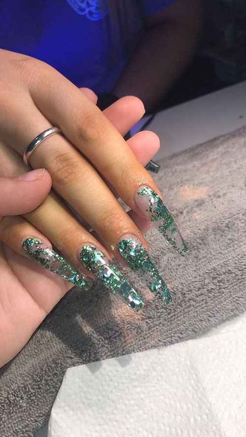 Long Full Cover Nails